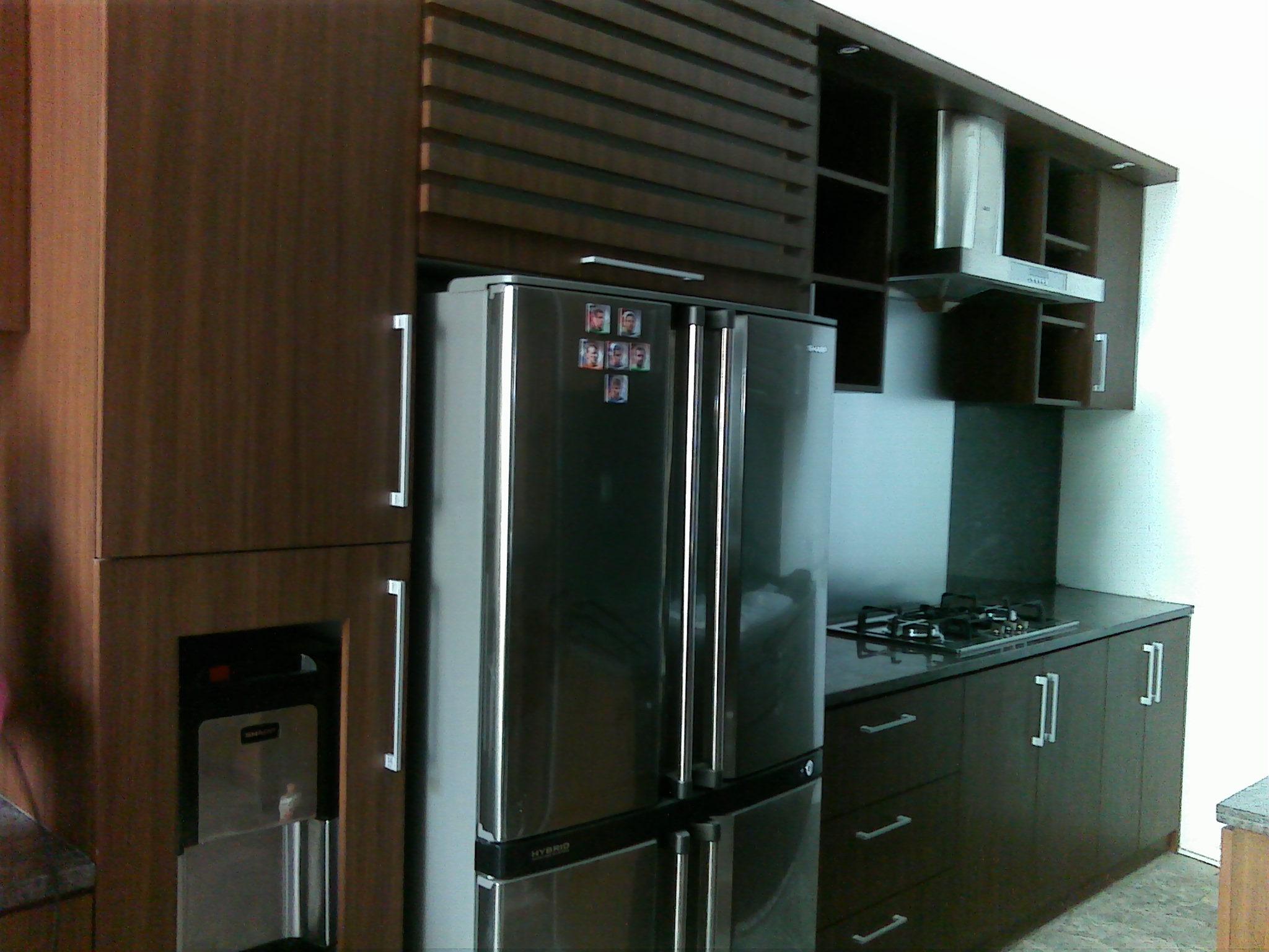 Kitchen set minimalis jasa pembuatan kitchen set for Kitchen set jakarta timur