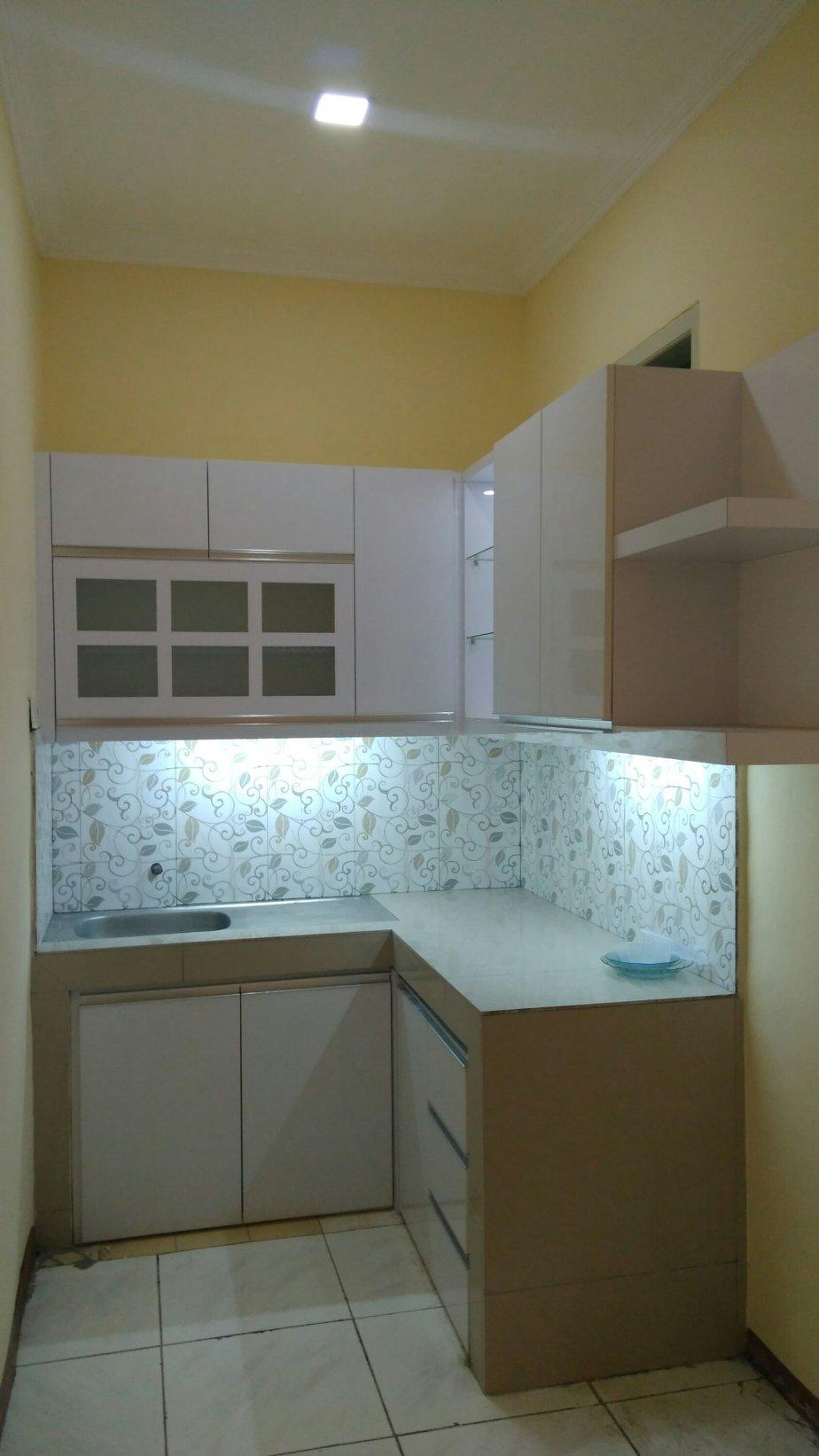 Jasa pembuatan kitchen set minimalis wardrobe kabinet tv partisi ...